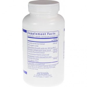Vital Nutrients Supp Facts BCQ