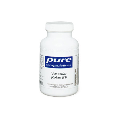 vascular relax bp pure encapsulations