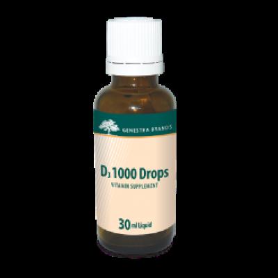 D3 1000 drops Genestra