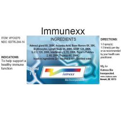 Immunexx Ingredients